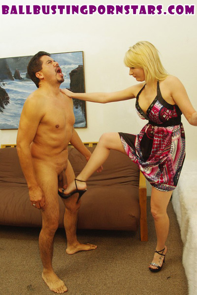 Poor slave is tormented by his sexy mistress 1