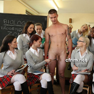 Teacher humiliated in front of his lovely female students