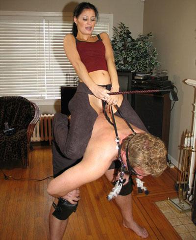 Mistress Ariel is deriving pleasure from her pony's suffering