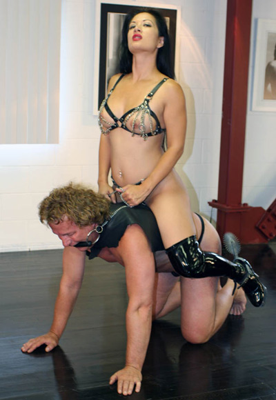 Riding pleasure for Mistress Jasmine