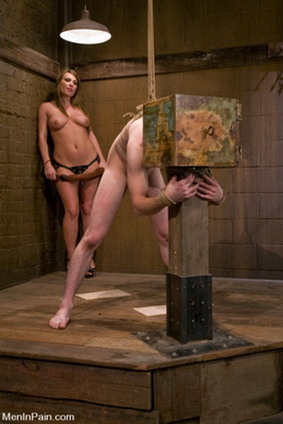Men In Pain - Male slaves submit to female domination