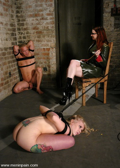 Men In Pain - Male slaves to Female Domination