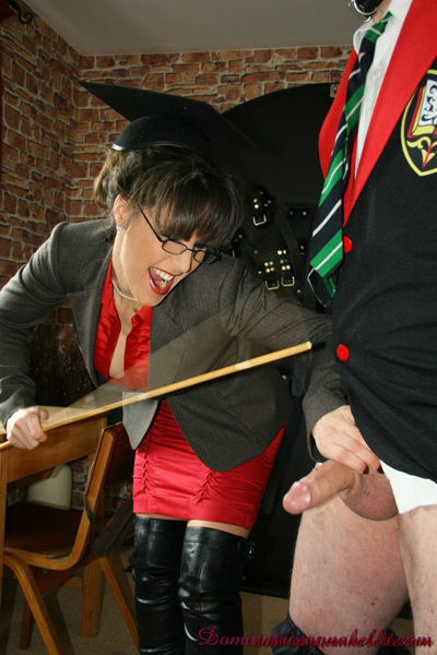 Cocking caning at the university