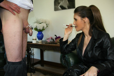 LILLIE: Femdom discipline and teasing