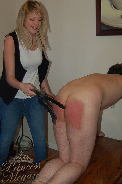 No reason spanking by Miss Becky