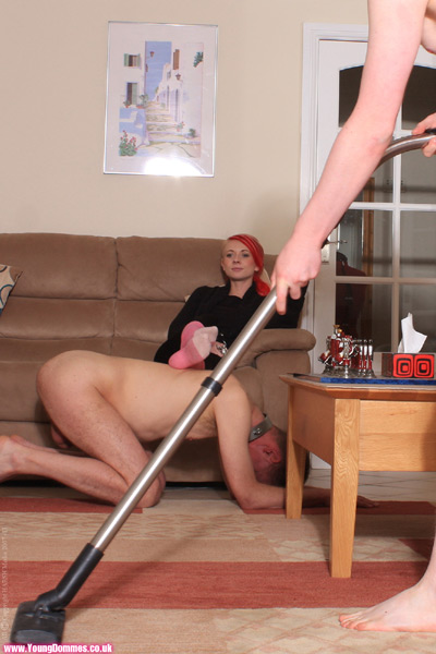 Enjoying life with domestic slaves