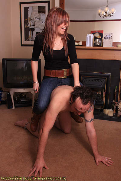 Young Dommes are full of energy