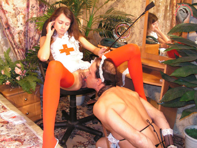 Pleasure for the Mistress  anywhere anytime she wishes