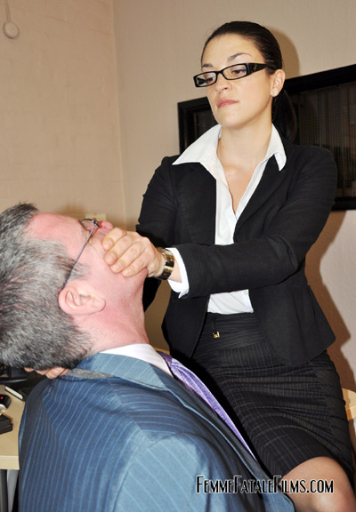 Suffocated by his office superior