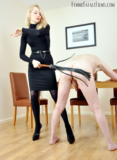 Flogging practice for Mistress Eleise