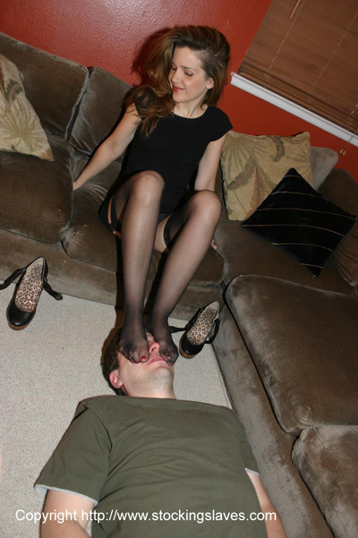 Foot smothering and foot domination — photo 7