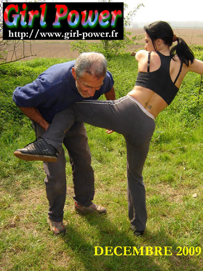 Knee busting training in the field