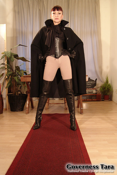 Governess Tara dominant pose
