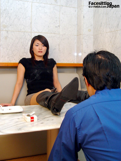 Japanese office lady humiliates her staff