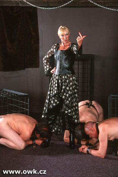 Mistress Alexandra wants more slaves