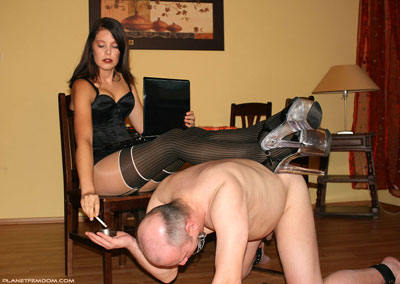 Multi purpose slave to serve the demanding Mistress