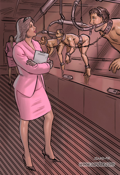 Expendable slaves for experiments