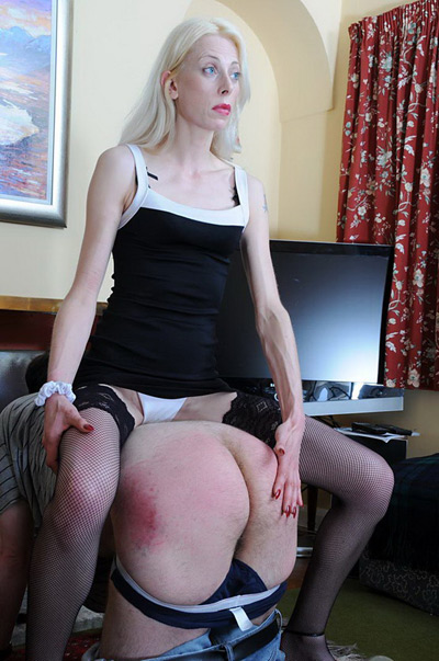 Spanking volunteer for Lady Samantha