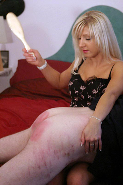 Spanking training for Mistress Vixen