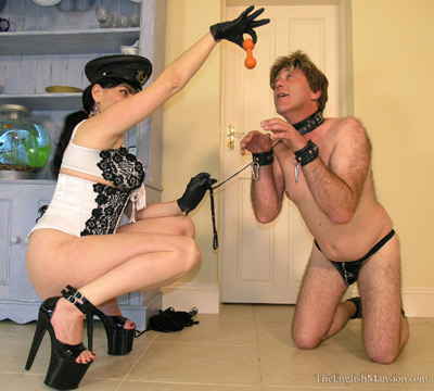 Training the doggy slave